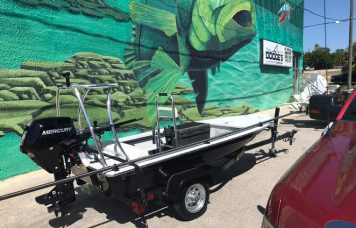 New Wrightwater 12 Demo Skiff